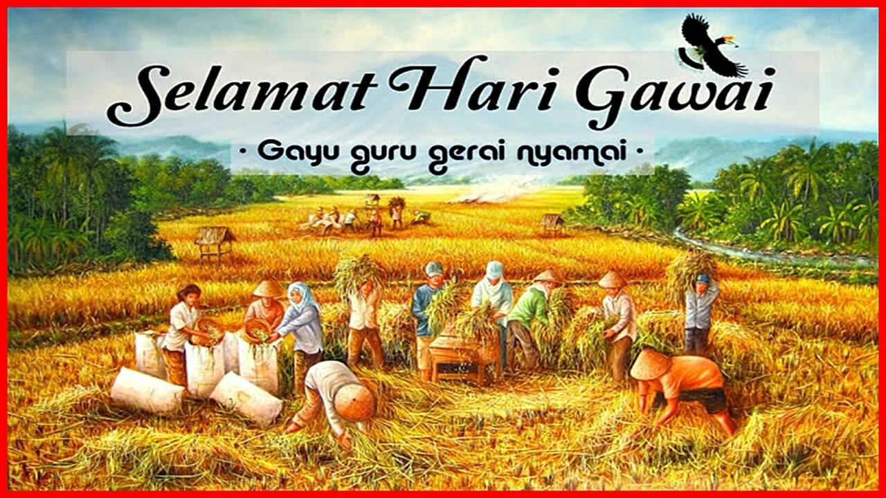 Sejarah-Hari-Gawai-Dan-Aktiviti-Utama-Orang-Dayak-Sarawak